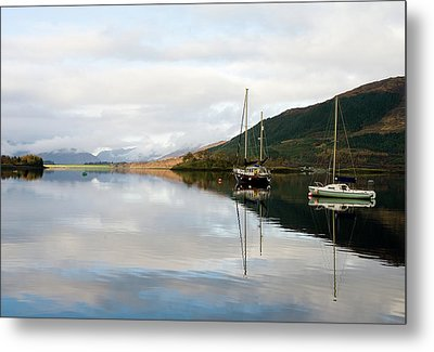 Tranquil Scottish Scene Metal Print by Jacqi Elmslie