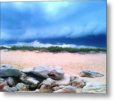 Tranquil Storm Metal Print by Julie Wilcox