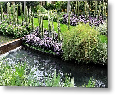Metal Print featuring the photograph Tranquil by Trina  Ansel