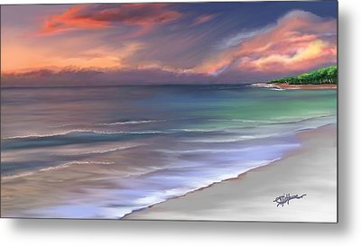 Tranquility Metal Print by Anthony Fishburne