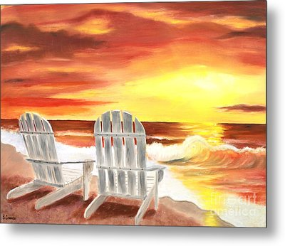 Tranquility Metal Print by Bev Conover