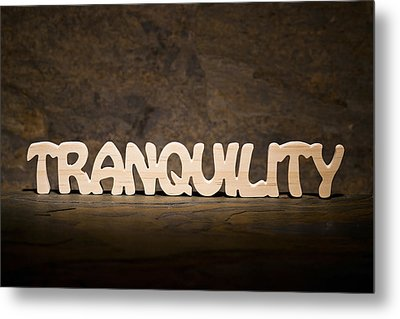 Tranquility Metal Print by Donald  Erickson