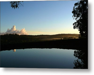 Tranquility Metal Print by Evelyn Tambour