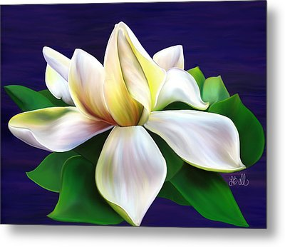 Metal Print featuring the painting Tranquility by Laura Bell