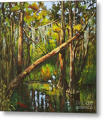 Metal Print featuring the painting Tranquillity by Dianne Parks