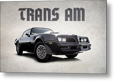 Trans Am Metal Print by Douglas Pittman