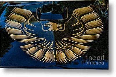 Trans Am Eagle Metal Print
