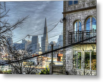 Transamerica View Metal Print by Kevin Ashley