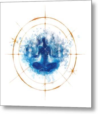 Transcendence II Metal Print by Vincent Carrozza