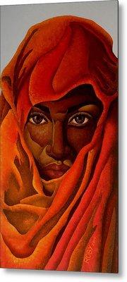 Transcendental Nubian Metal Print