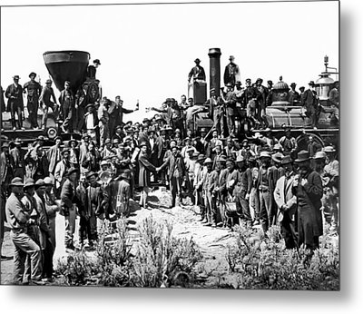 Transcontinental Railroad Metal Print by Underwood Archives
