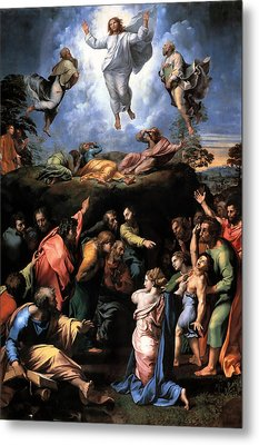 Transfiguration Reproduction Art Work Metal Print