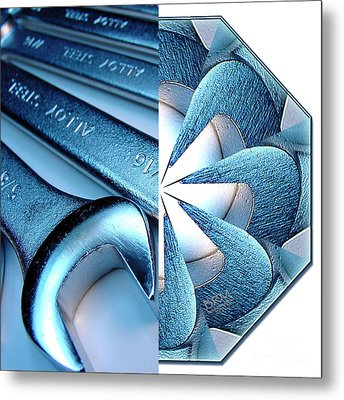 Transformers-bmac 4 Metal Print