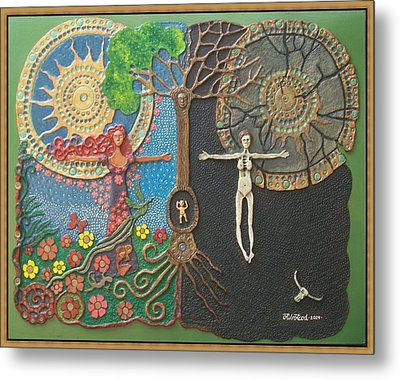 Transgression To Mother Nature Metal Print
