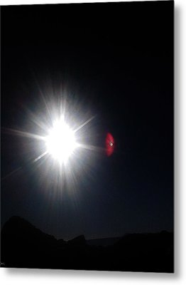 Metal Print featuring the photograph Transit Of Venus 2012 Rare Capture by Rc Rcd
