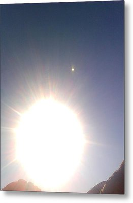 Metal Print featuring the photograph Transit Of Venus 2012 by Rc Rcd
