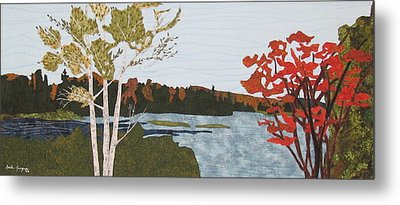 Transitional Peace Metal Print by Anita Jacques