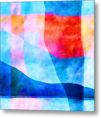 Translucence Number 4 Metal Print by Carol Leigh
