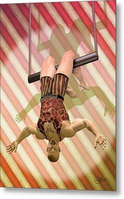 Trapeze Artist  Metal Print by Quim Abella