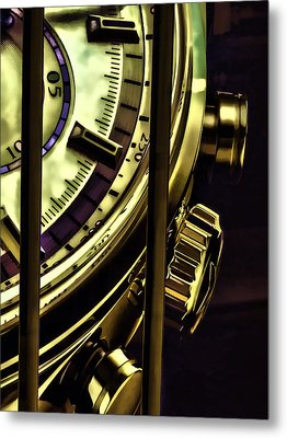 Metal Print featuring the painting Trapped In Time by Muhie Kanawati