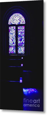 Trappist Abbey Chapel Metal Print by Tom Cruickshanks