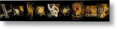 Travel In Time To 1969 Series Pano Metal Print by Andee Design