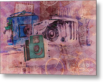 Travel Log Metal Print