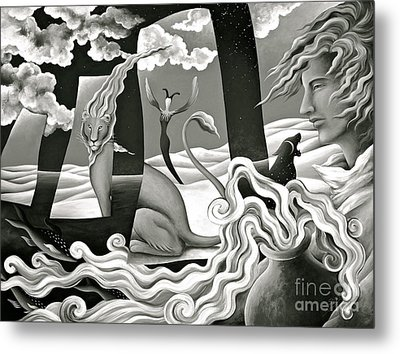 Traveler's Fortune Metal Print by Gem S Visionary