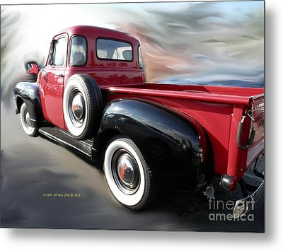 Traveling Back In Time Metal Print by Angelia Hodges Clay