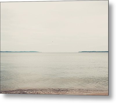 Traverse Bay Metal Print by Elle Moss