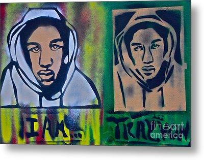 Trayvon Martin Metal Print by Tony B Conscious