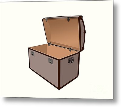 Treasure Box Metal Print by Sinisa Botas