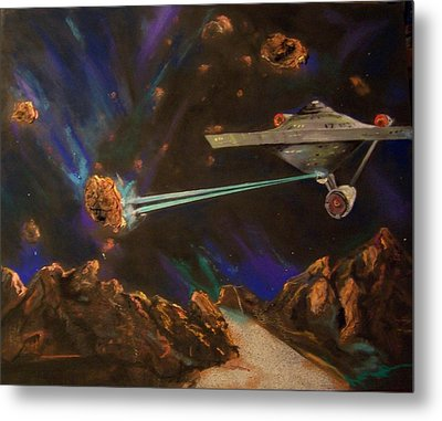 Trek Adventure Metal Print