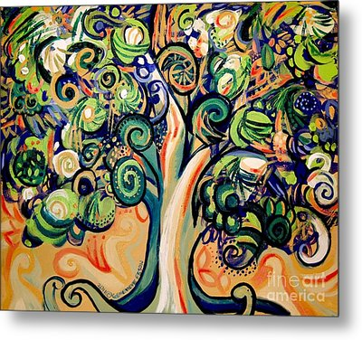 Tree Candy 2 Metal Print by Genevieve Esson