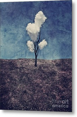 Tree Clouds 01d2 Metal Print by Aimelle