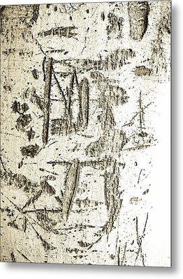 Graffiti 1 Metal Print by Gilbert Artiaga