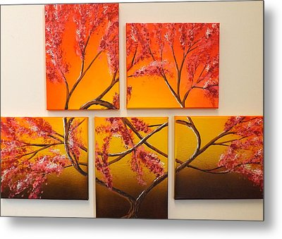 Tree Of Infinite Love Metal Print