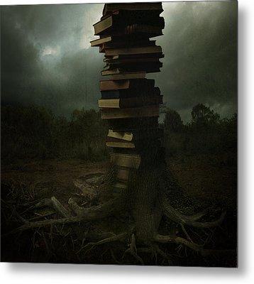 Tree Of Knowledge Metal Print by Fern Evans