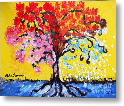 Tree Of Life Metal Print by Ramona Matei