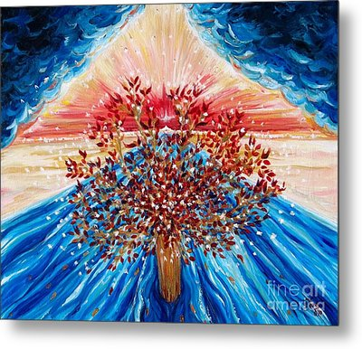 Tree Of Life Metal Print by Suzanne King
