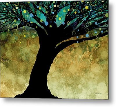 Tree Of Life Two  Metal Print by Ann Powell