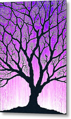 Metal Print featuring the digital art Tree Of Light 2 by Cristophers Dream Artistry