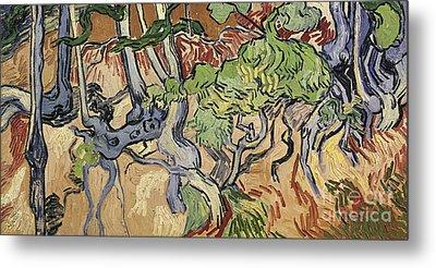 Tree Roots Metal Print by Vincent Van Gogh