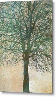 Tree Silhouette II Metal Print by Cora Niele