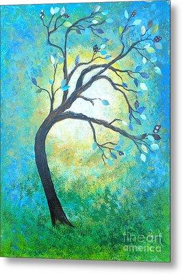 Tree Tango Metal Print