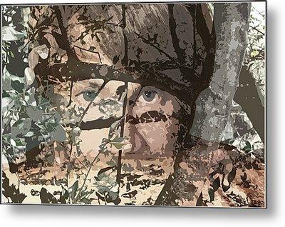 Tree Vision Metal Print