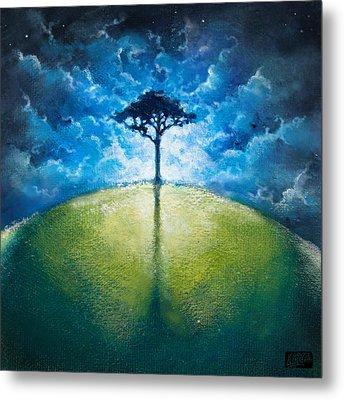 Treelogy I Metal Print by Vincent Carrozza