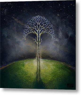 Treelogy II Metal Print by Vincent Carrozza