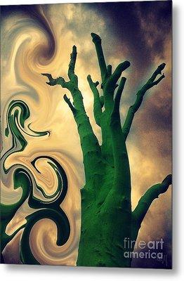 Treeswirl Metal Print