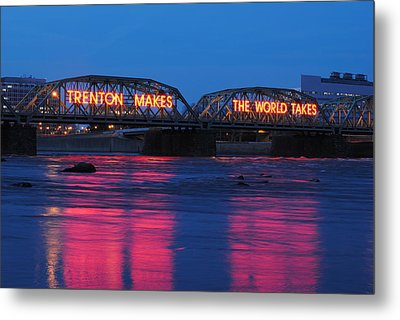 Trenton Makes Metal Print